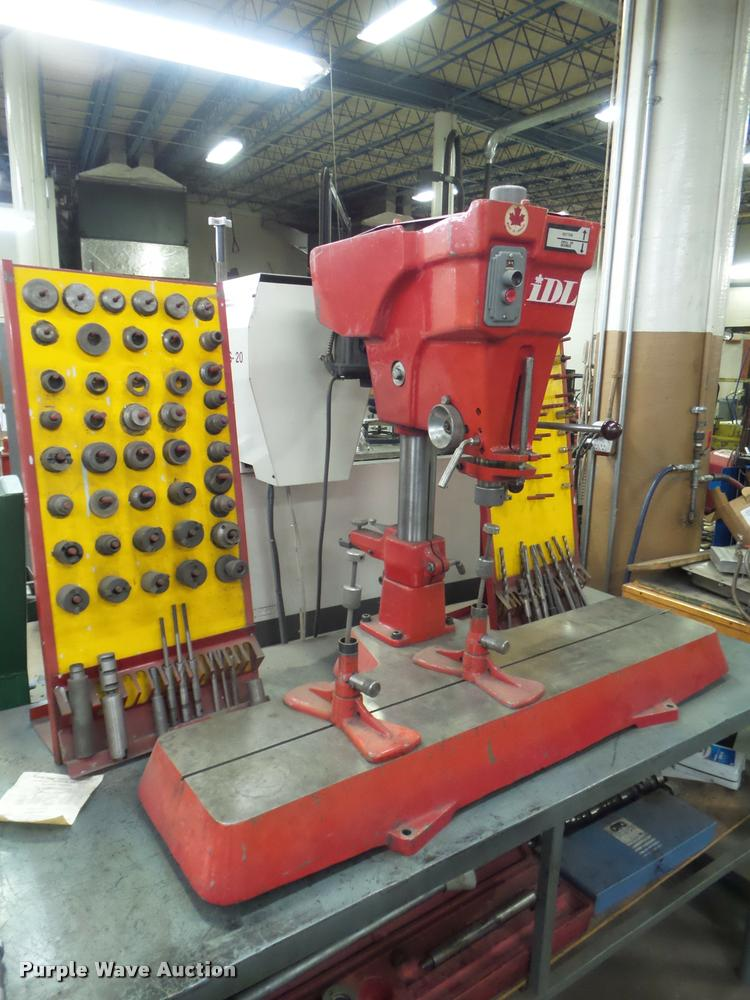 IDL valve guide seat machine