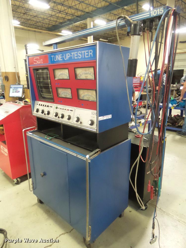 Sun Diagnostic ignition analyzer