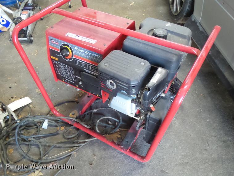 Lincoln Electric Power Arc 4000 welder/generator