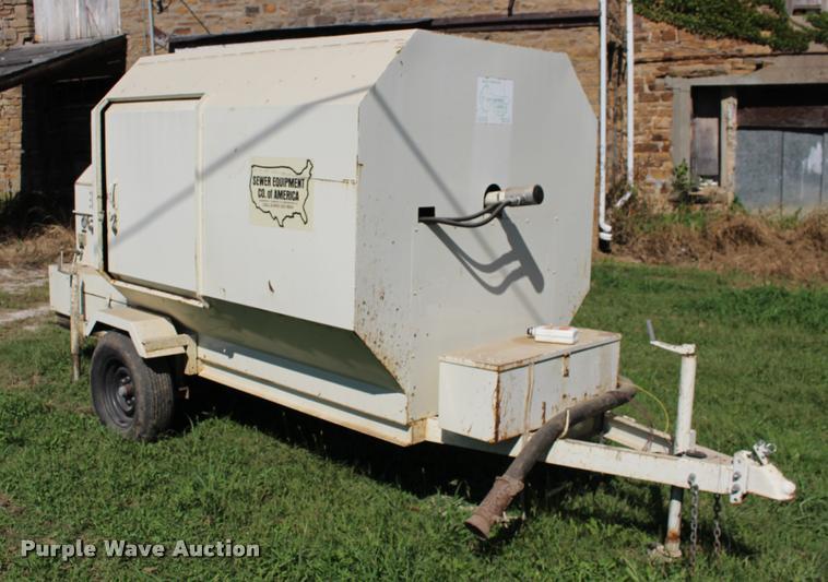 1998 Sewer Equipment of America rodding machine