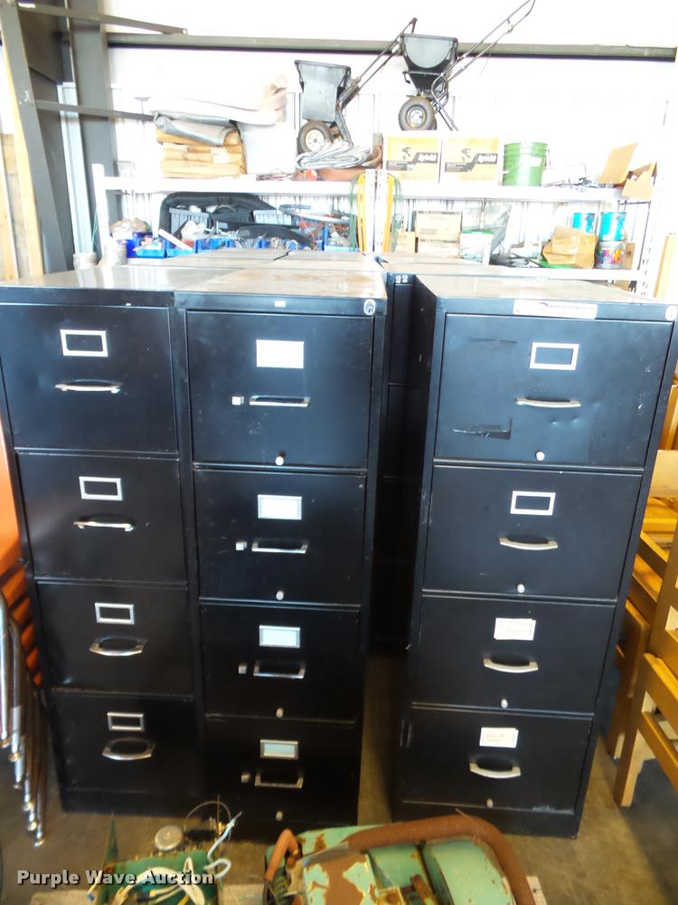 (12) filing cabinets