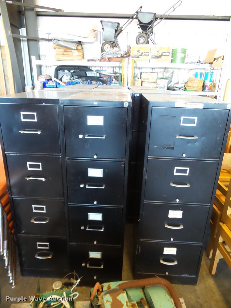 (12) filing cabinets