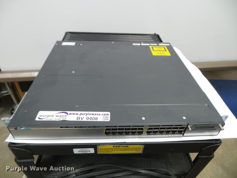 Cisco WS-C3750X-24T-S switch