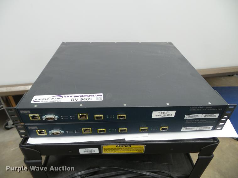 (2) Cisco wireless controllers