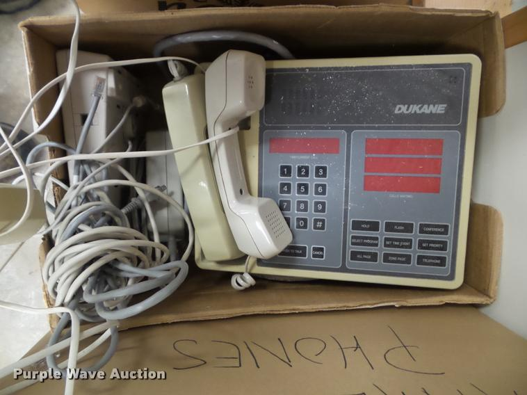 Approximately 60 to 70 analog phones
