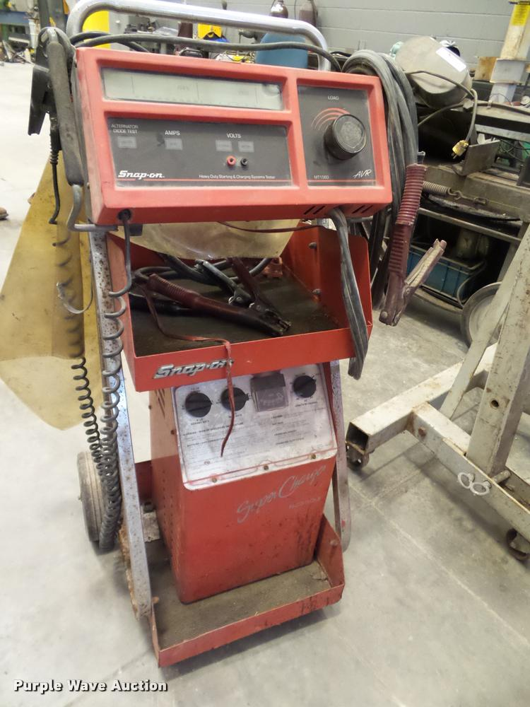 Snap-on starting and charging system tester