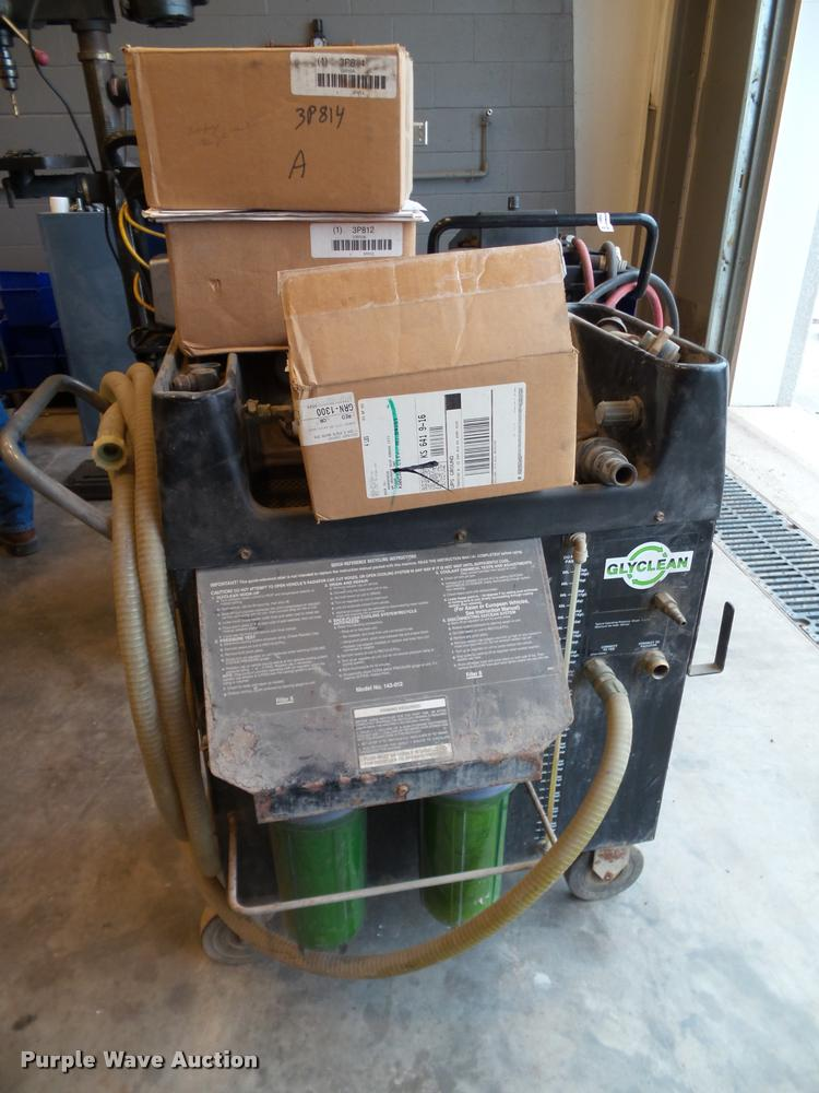 Glyclean antifreeze recycling system