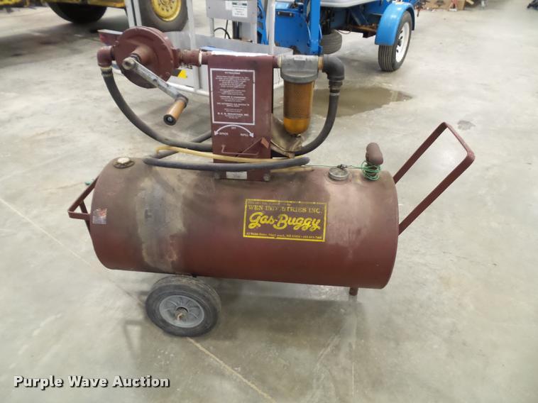Wen Industries 34 gallon gas buggy