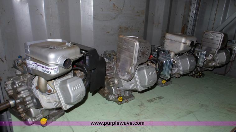 (4) Briggs & Stratton 10 HP gas engines