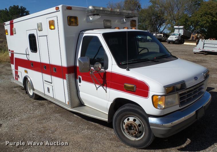 1994 Ford Econoline E350 ambulance