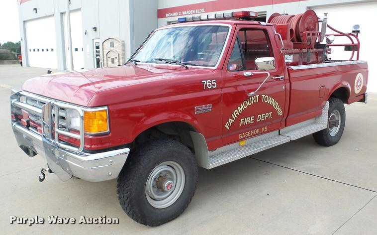1988 Ford F350 fire truck