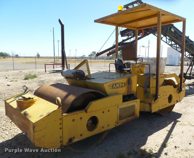 Tampo RS166A double drum roller