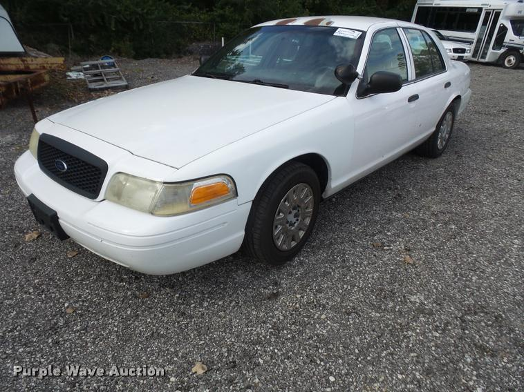 2003 Ford Crown Victoria Police Interceptor