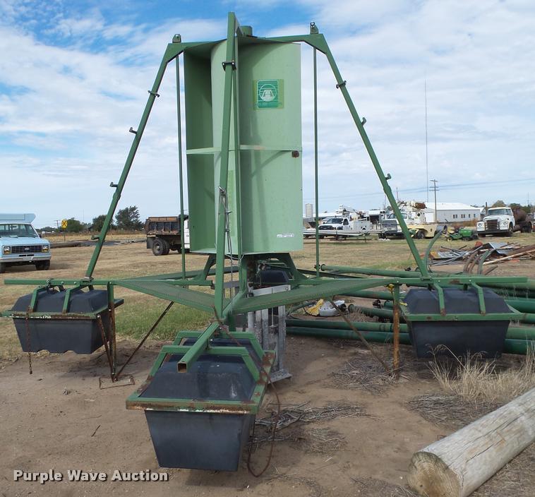 Lake aid waste pond aerator