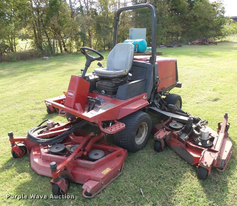 Toro Groundmaster 4000D ZTR lawn mower