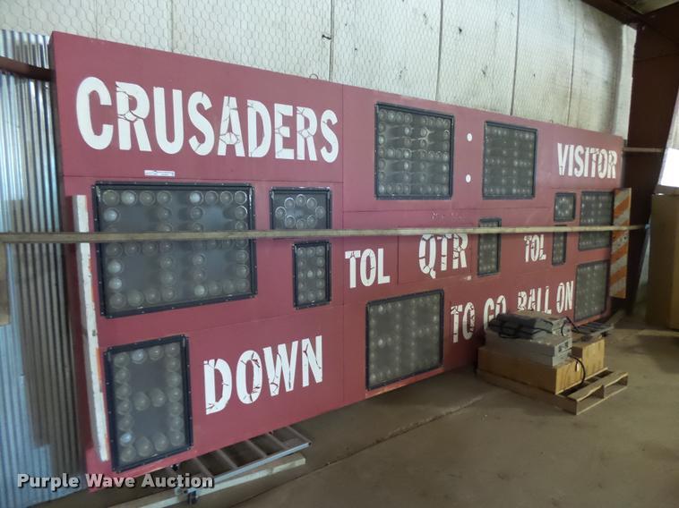Fair Play FB-8120 scoreboard