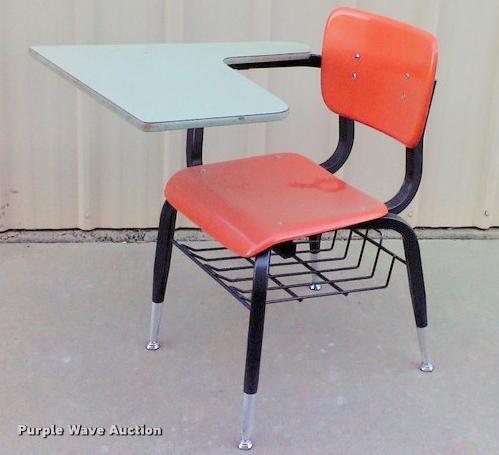 (65) school desks