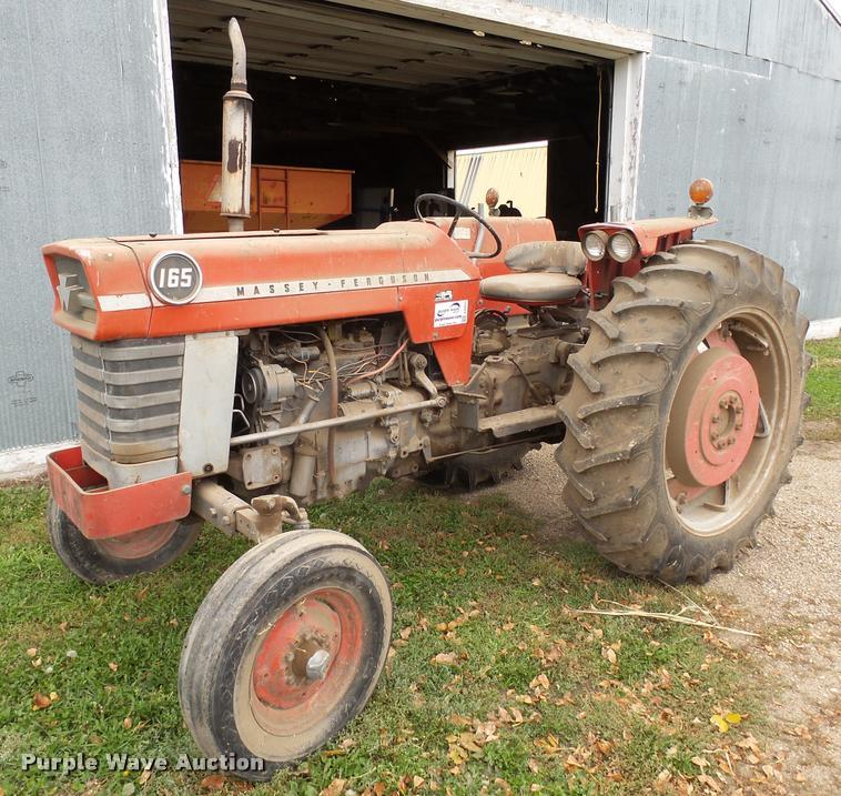 Massey-Ferguson 165 tractor