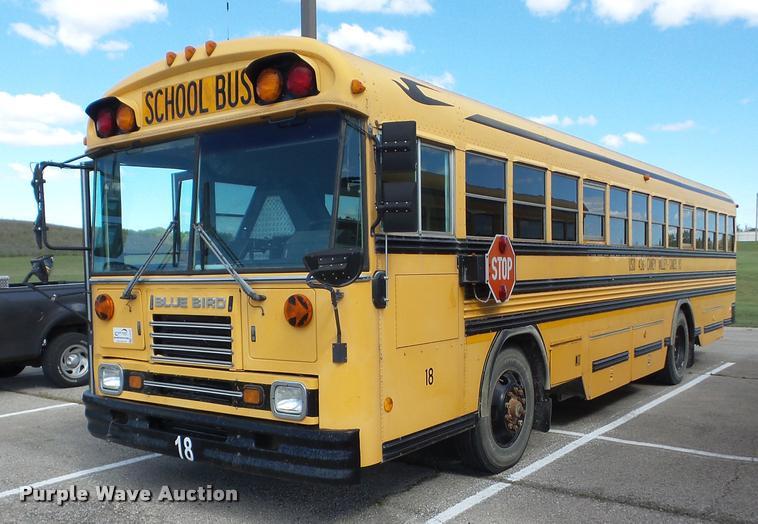 1997 Blue Bird TC2000 school bus
