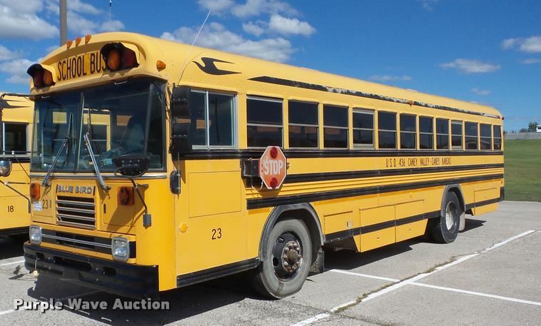 1993 Blue Bird TC2000 school bus