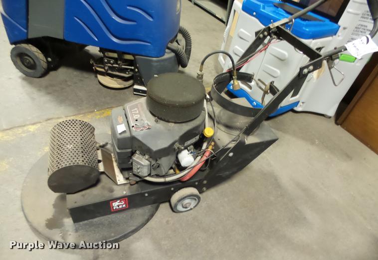 Eliminator floor burnisher
