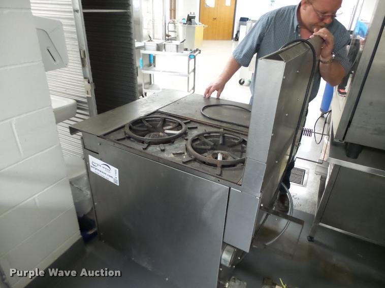 Vulcan two burner stove oven