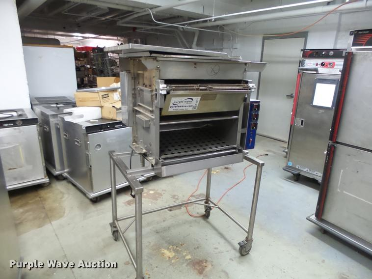 Nieco N550 stainless steel automatic broiler