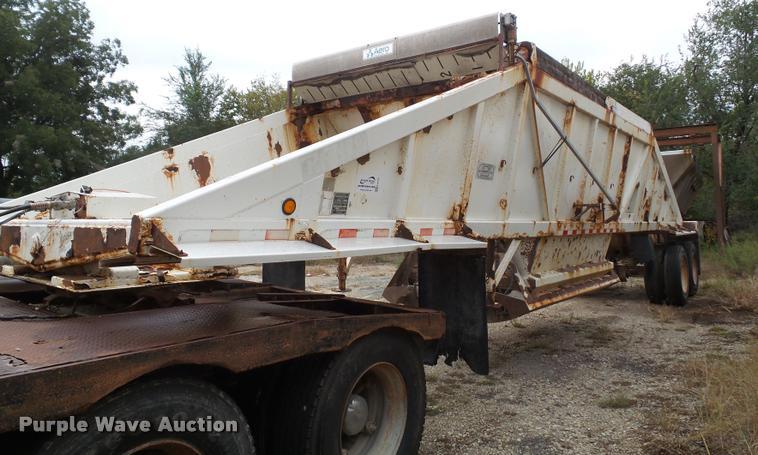 1997 Ranch bottom dump trailer