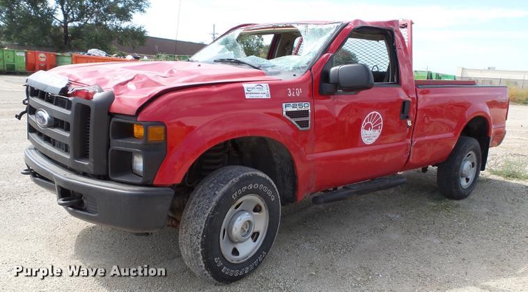 2008 Ford F250 Super Duty XL pickup truck