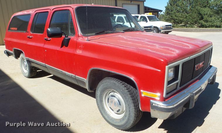 1991 GMC Suburban 1500 SUV