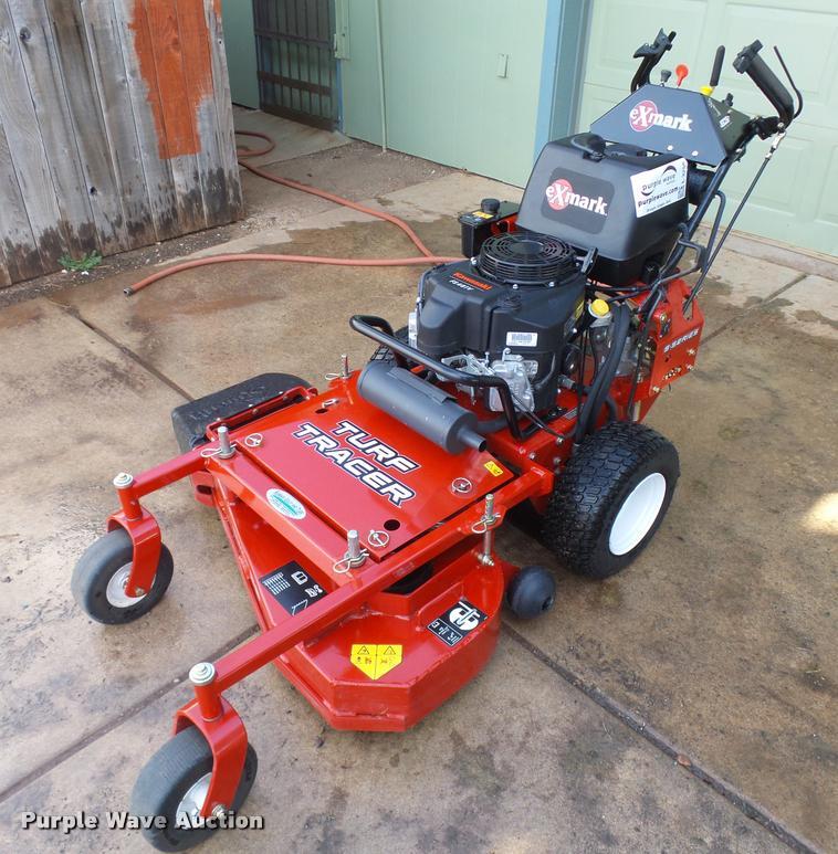 2015 Exmark Turf Tracer lawn mower