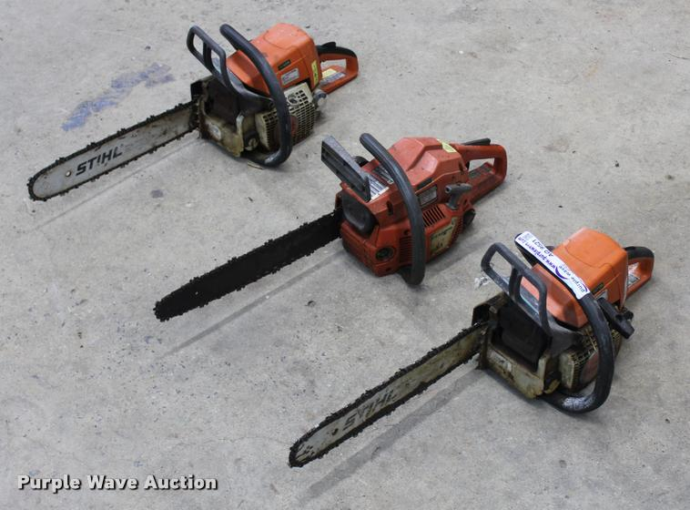 (3) chainsaws