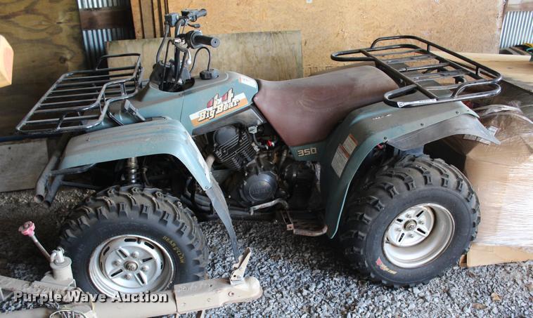 1992 Yamaha Big Bear 350 ATV