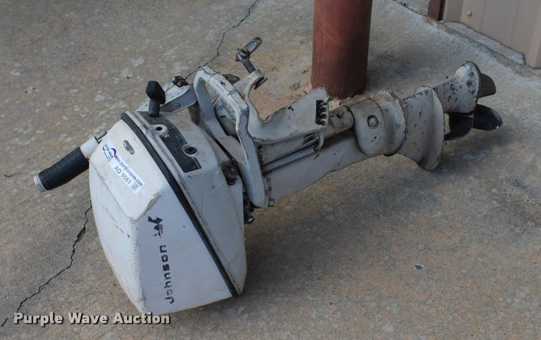 1966 Johnson Seahorse 6H outboard motor