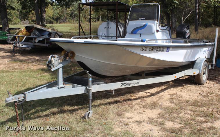 1997 Blue Wave 189 v-bottom boat