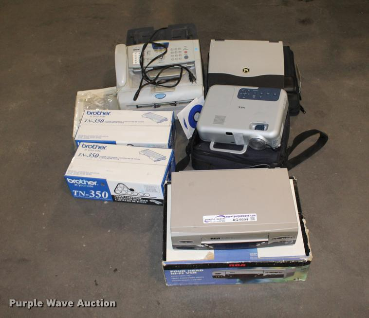 Office supplies and equipment