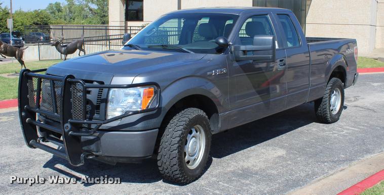 2010 Ford F150 XL SuperCab pickup truck