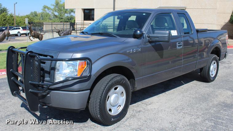 2009 Ford F150 XL SuperCab pickup truck