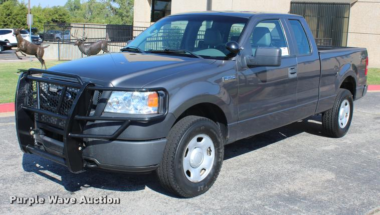 2008 Ford F150 XL SuperCab pickup truck