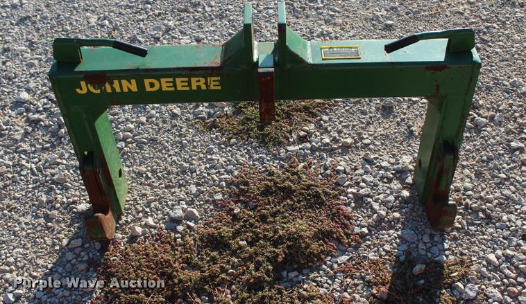 John Deere quick attach