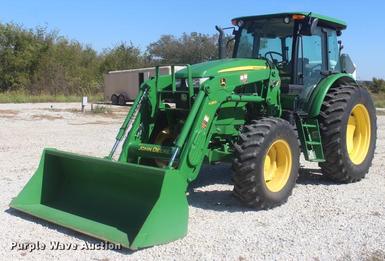 2013 John Deere 6115D MFWD tractor