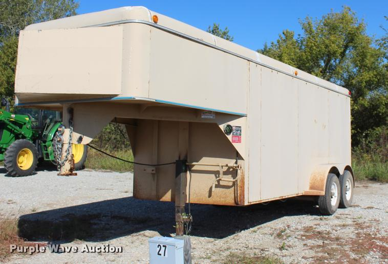1994 WW enclosed cargo trailer