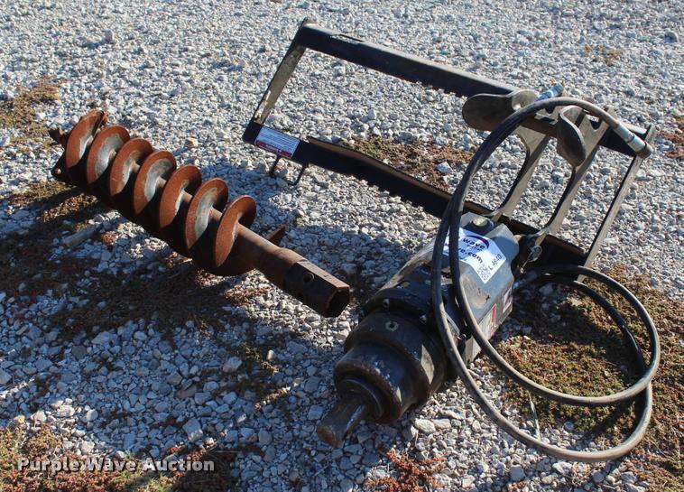 2014 Danuser EP-15 hydraulic auger