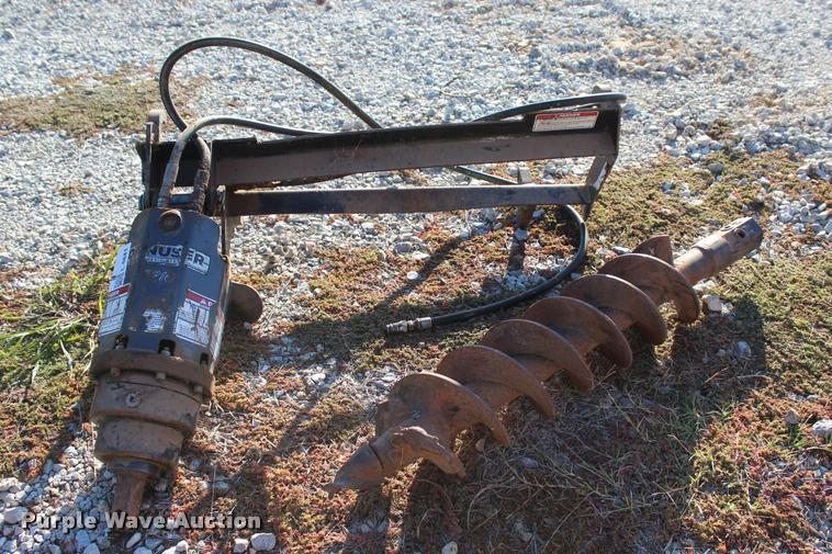 2014 Danuser EP-10 hydraulic auger