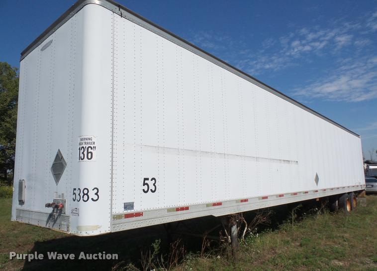 1998 Trailmobile dry van trailer