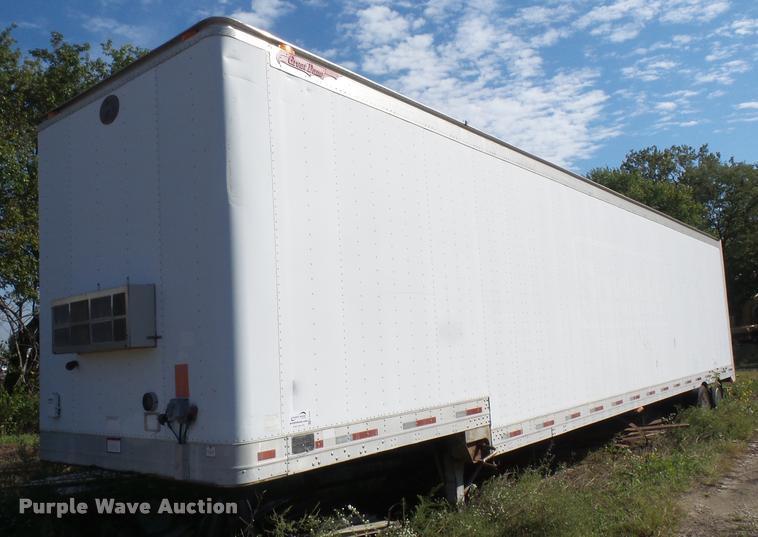1996 Great Dane dry van trailer