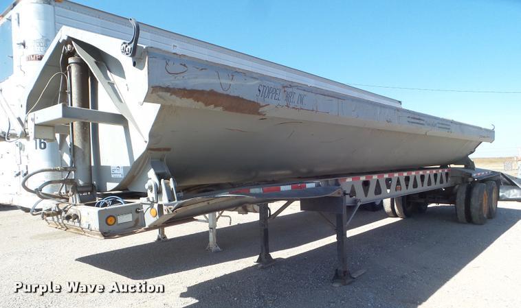 2004 Trail King TK60SSN-392 side dump trailer