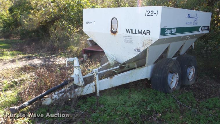 (2) Willmar spreaders