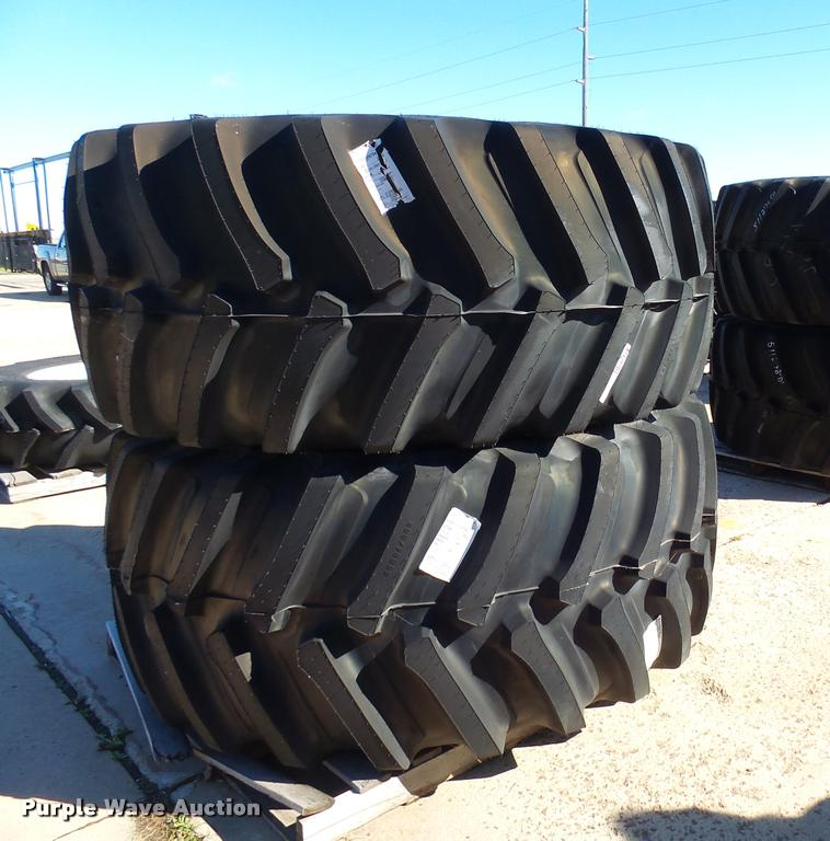 (6) Firestone 800/70R38 tires