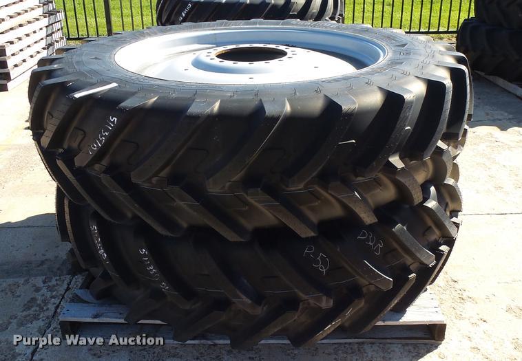 (4) Michelin 480/80R46 tires